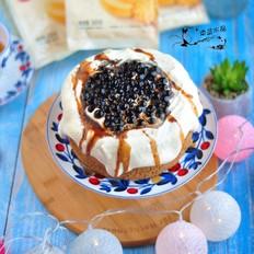 黑糖珍珠爆浆奶茶蛋糕