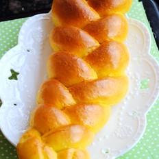 南瓜辫子面包