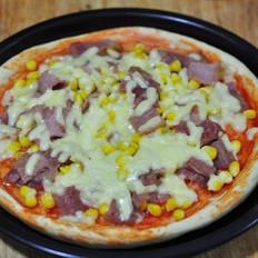 玉米培根披萨