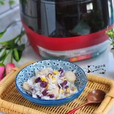 紫薯马蹄玉米饭