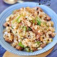 尖椒肉丝炒饭