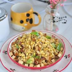 黄豆芽炒豆腐干