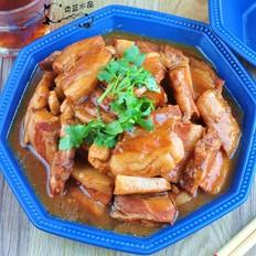 酱梅豆腐蒸肉