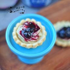 蓝莓山药挞