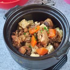 鸡腿烧豆腐