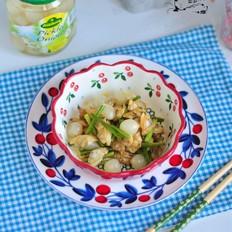 蛤蜊肉炒鸡尾洋葱