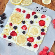 水果脆酸奶冰砖