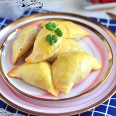 猪肉韭菜烤饺子