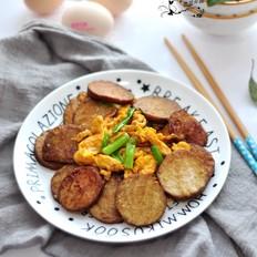 #冬至大如年#红烧素鸡炒蛋