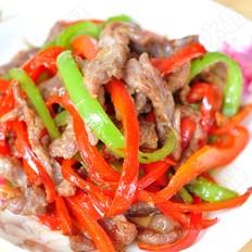 尖椒滑牛肉