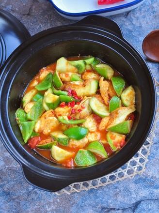 番茄豆腐锅的做法