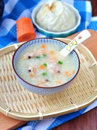 北极虾砂锅粥的做法