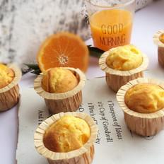 橘子麦芬蛋糕