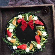 花环水果沙拉