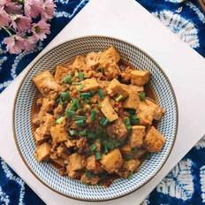 肉沫烧豆腐