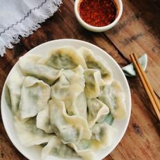 核桃韭菜饺子