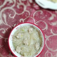 萝卜粉丝丸子汤