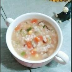 鲜虾香菇粥