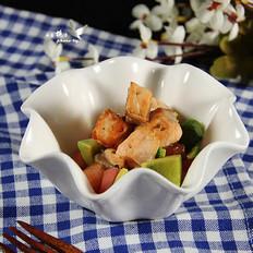 三文鱼牛油果沙拉的做法