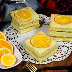 香橙蛋糕的做法