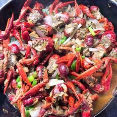 虾黄美味小龙虾的做法