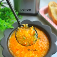 胡萝卜玉米羹