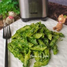 菠菜酱拌通粉