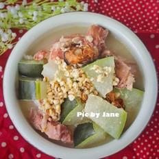 冬瓜薏仁蚝豉猪骨汤