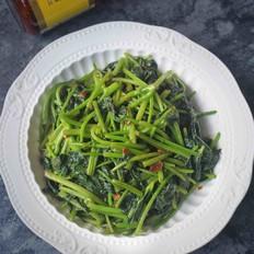 黄豆酱炒番薯叶