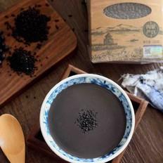 黑米黑豆黑芝麻糊的做法