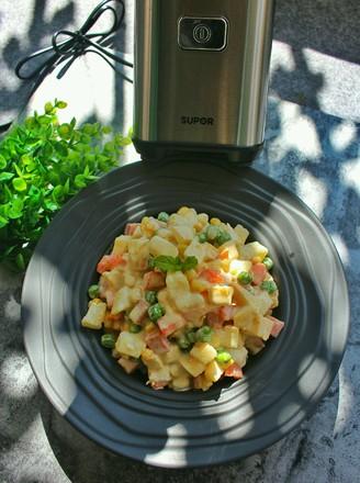 彩色蔬果沙拉的做法