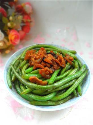 炒龙豆的做法