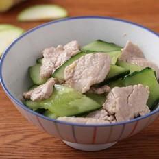 黄瓜炒猪肉