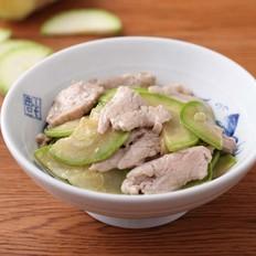 西葫芦炒猪肉