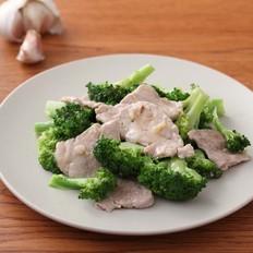 西兰花炒肉片