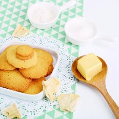 菠萝鸡蛋味小薄饼干