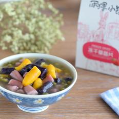润燥清新绿豆芋圆的做法