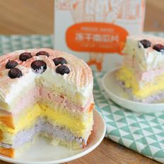 切片面包彩虹水果蛋糕的做法
