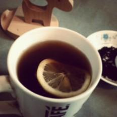 手榨柠檬蜂蜜红茶