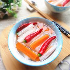 酸辣萝卜的做法