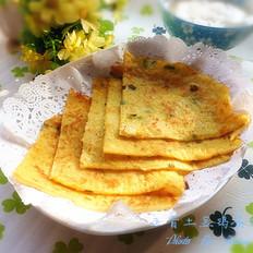 五香土豆鸡蛋饼