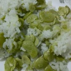 香糯蚕豆饭