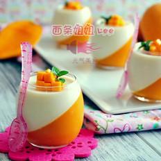 芒果鲜奶杯