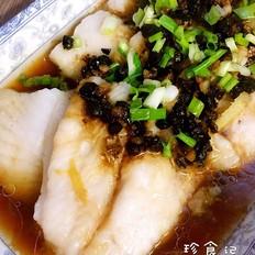蒜蓉豆豉蒸龙利鱼
