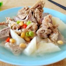 排骨山药黄豆汤
