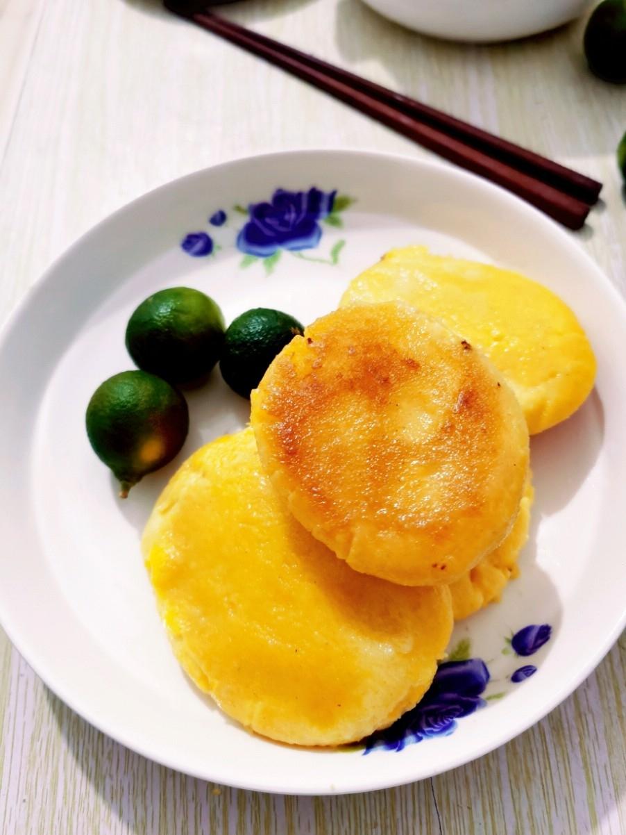 汤面玉米饼