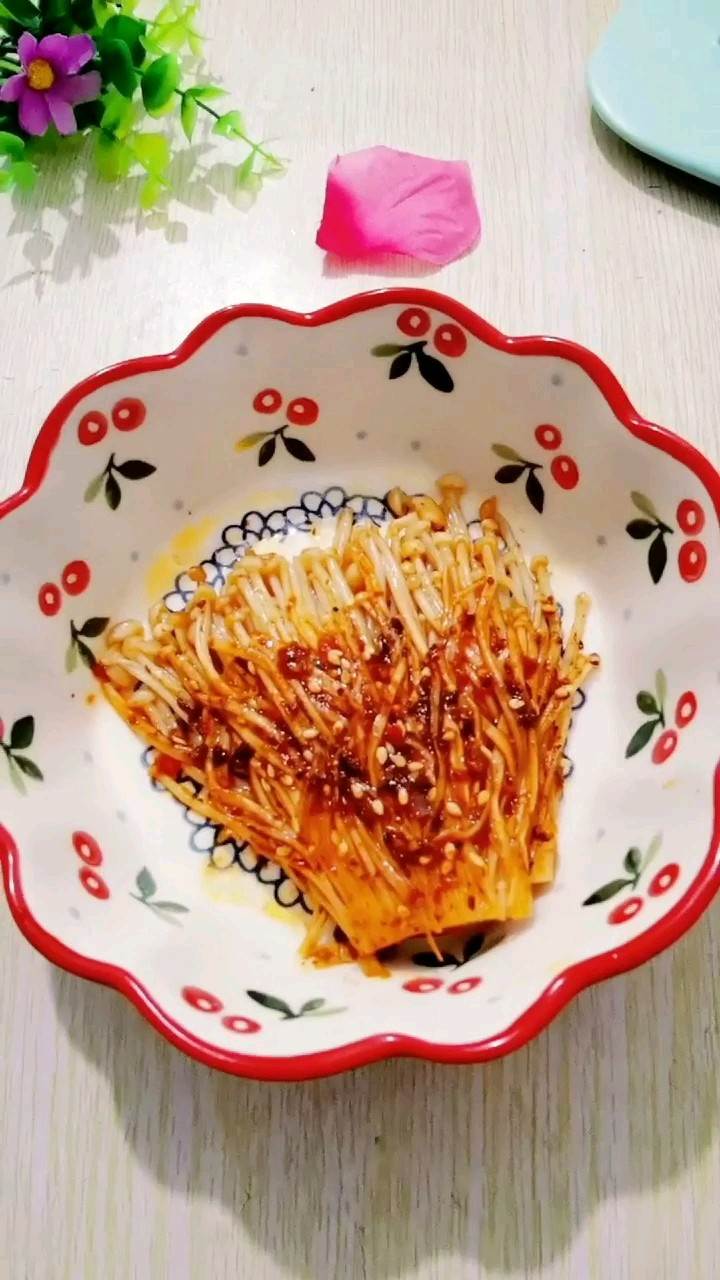 蒜蓉烤金针菇