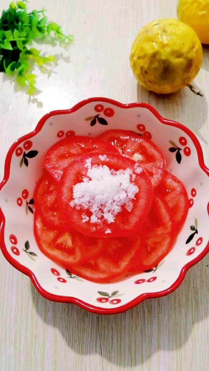 西红柿拌糖