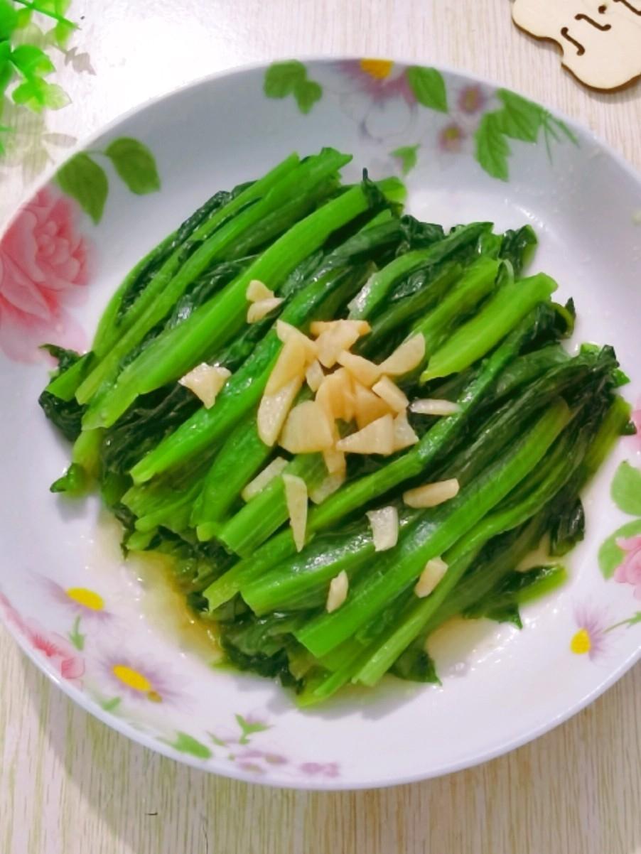 蚝油炒油麦菜