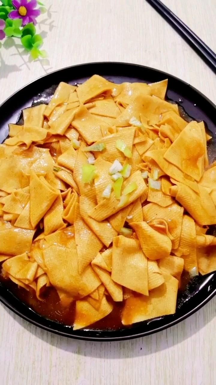 红焖干豆腐